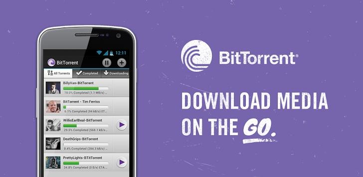Bittorrent android app