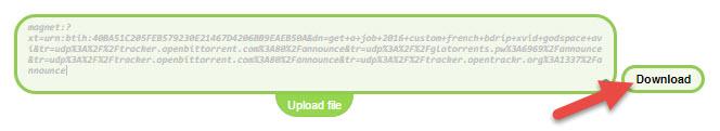 Paste it in the Filestream link box